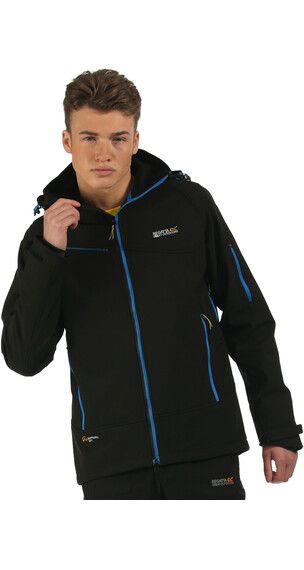 Regatta Hewitts II Softshell Jacket Men Black (Black)